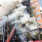 カラオケとレストラン銀座の火災(vneconomyより)